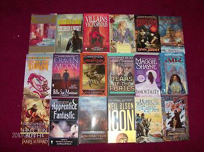 120 Brand New Science Fiction, Fantasy & Horror Books Sold in Lots Of 30