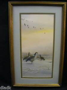T-Sander-Duck-Print-Ltd-Ed-Double-Signed-Numbered