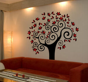 image is loading tree wall decal deco art sticker mural amazing - Stickers Muraux Design Decoration