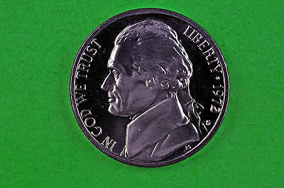1968 S  DEEP CAMEO  JEFFERSON NICKEL  US GEM  PROOF COIN