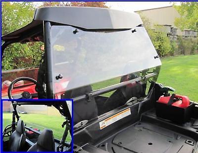 Polaris RZR Rear Hard Full Window Cab Back Dust Stopper