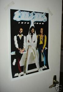 The Bee Gees Repro Tour Poster 1979 NEW