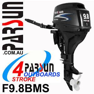 9-8HP-PARSUN-Outboard-4-stroke-Short-Shaft-BRAND-NEW-2yr-FULL-FACTORY-Warranty
