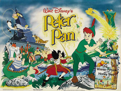 Disney Peter Pan cult cartoon poster print #21 on Rummage