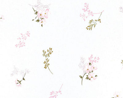 Cotton-100-Curtain-Covering-Bedding-Fabric-Vintage-Oriental-Shabby-Floral-52-W