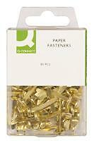 PAPER-FASTENERS-BRASS-PLATED-BINDER-SPLIT-PIN-QTY-80