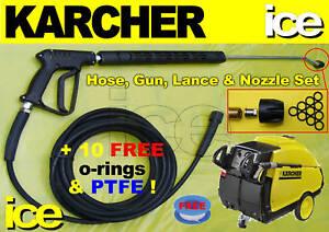 karcher replacement steam cleaner hose trigger gun lance. Black Bedroom Furniture Sets. Home Design Ideas