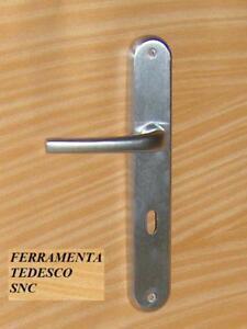 Maniglie maniglia porte d 39 interno cromo satinato sicma ebay - Maniglie porte interne cromo satinato ...