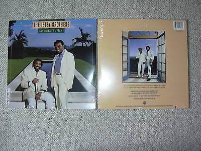 ISLEY BROTHERS SMOOTH SAILIN VINYL LP RECORD NEW SEALED 1987