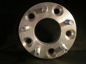 WHEEL SPACERS 5 x 4.75 to 5 x 4.50 ALLOY SPACERS X 2. Holden to Ford 25mm THICK