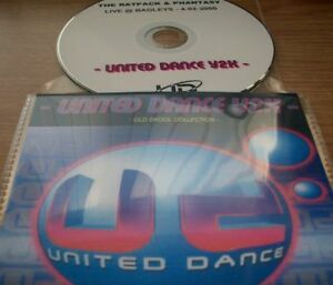UNITED-DANCE-Y2K-OLD-SKOOL-CD-RATPACK-amp-DJ-PHANTASY