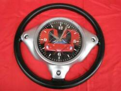 Ferrari Steering Wheel Novelty Wall Clock