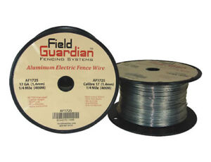 17 Gauge Aluminum Wire 1/4 mile for Electric Fence