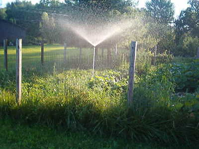 3 foot tall Garden Lawn water Sprinkler- WORKS LIKE RAIN–THE BEST gardening