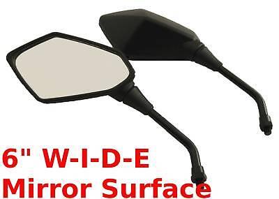 Pair Black Mirrors - Suzuki Madura Gv700 Gv1200 $