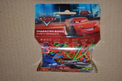 Disney Cars Pixar Logo Bandz Rubber Bands Bracelets NEW