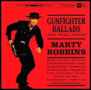 MARTY ROBBINS - GUNFIGHTER BALLADS D/R CD EL PASO *NEW*
