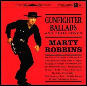 MARTY ROBBINS - GUNFIGHTER BALLADS D/R CD EL PASO *NEW*