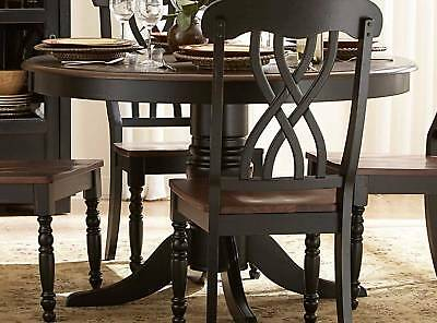 Casual Country White Dining Table Chairs Dining Room Furniture Set EBay