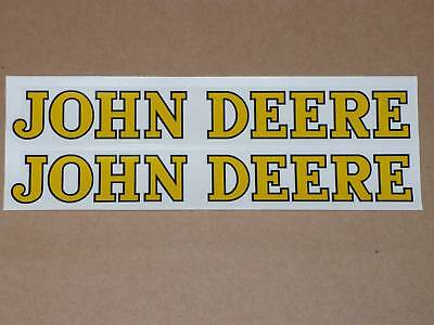 John Deere Decal Set 8 Adhesive, Also Used On Fender Pedal Tractor Wagon J910