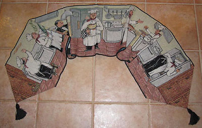 Chefs De Jour Chefs Collection Tapestry Table Runner