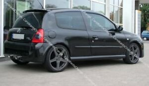 RENAULT CLIO II 2 BODY KIT: FRONT + REAR BUMPER + SIDE SKIRTS - SPORT look ! NEW