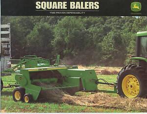 Details about John Deere 328 338 348 Square Baler Sales Brochure NEW  DSAA9508 (00-11)