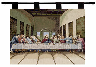 - The Last Supper ~ Christian Jesus Tapestry Wall Hanging