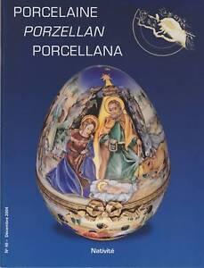 PORCELAINE-PORZELLAN-PORCELLANA-N-48-DECEMBRE-2004-NATIVITE