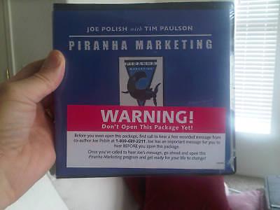 Joe Polish's Piranha Marketing - Plus $2, 000 in BONUSES - BEST Deal Anywhere!