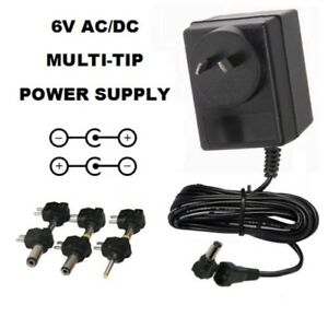 6-VOLT-800mA-AC-DC-POWER-SUPPLY-ADAPTER-6V-0-8A-6-V-800-MA