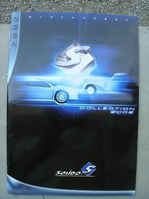 Catalogue Solido 2002