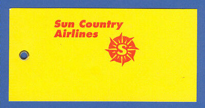 Sca Sun Country Airlines Baggage Tag