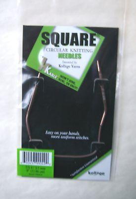 Kollage Square Circular Knitting Needles 9 Original