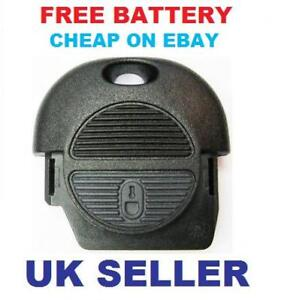 Nissan-Almera-Primera-Remote-Key-Fob-Case-FREE-BATTERY