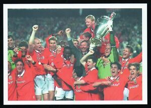 Solskjaer 1999 Champions League Treble Man Utd Picture