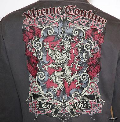 Xtreme Couture Men's King's Pride Stylish Jacket Blazer Top Coat Grey M