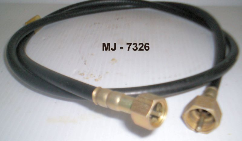 Clark Brothers Flexible Shaft Assembly Speedometer Cable