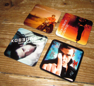 Robbie Williams Album Cover COASTER Set #1