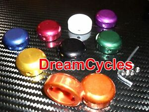 Savage-BMX-Bar-End-Plugs-8-Colours-PAIR-NEW-Grips