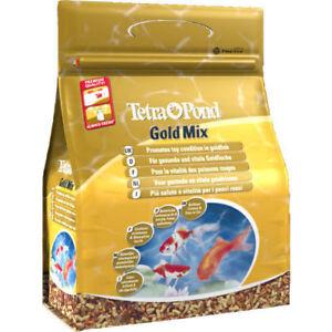Tetra pond goldfish gold mix 560g pond food tetrapond ebay for Goldfish pond kits
