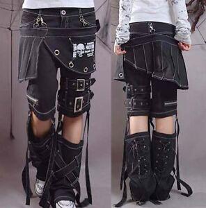 punk-kera-rock-fashion-visual-kei-skull-printed-unisex-pants-trousers-SIZE-S-XXL