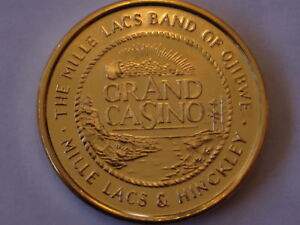 Grand casino wildlife collector coins