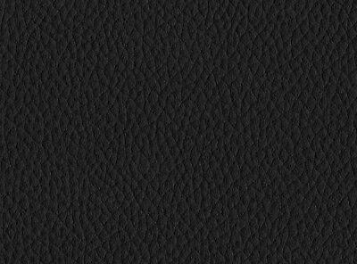 Meterware Kunstleder Lederimitat schwarz 1,50 Breit  Leder Nappa PVC Auto Möbel