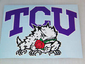 TCU Decal: Fan Apparel & Souvenirs | eBay
