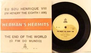Hermans-Hermits-Im-Henry-The-Eight-I-Am-Brazil-Import-45-With-Picture-Sleeve
