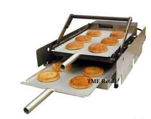 Hamburger grill burger machine fast food bar new ebay for Food bar press machine