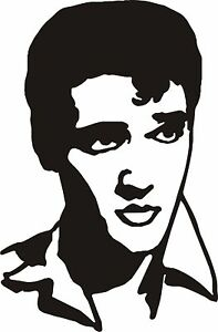 Elvis-Presley-Vinyl-Decal-Sticker-Music-Movies-Dvd