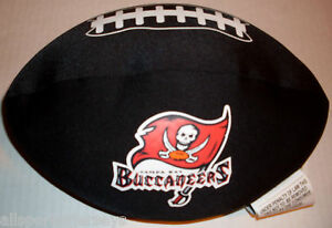 NWT-NFL-SPANDEX-FOOTBALL-PILLOW-TAMPA-BAY-BUCCANEERS