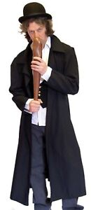 STEAMPUNK-Victorian-OLIVER-Villian-LONG-COAT-sml-xxxxl